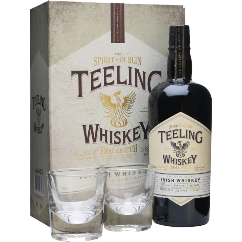 Teeling Small Batch Blended Coffret cadeau 2 verres Whisky