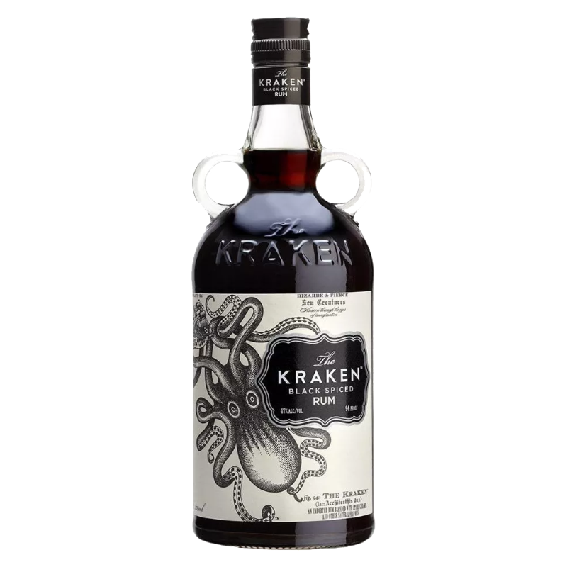 Kraken Black Spiced Rhum 40%