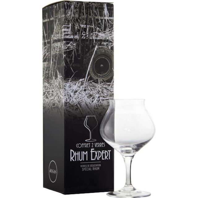 Coffret 2 verres rhum expert Chef & Sommelier