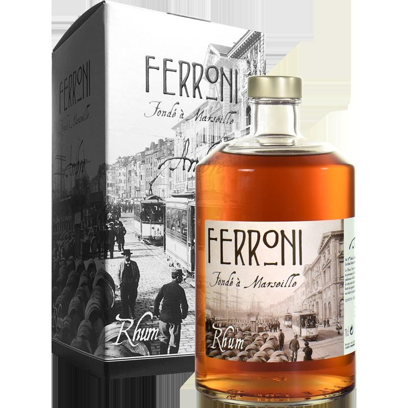 Ferroni Ambré Rhum 40 %