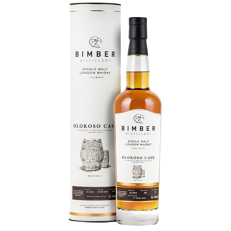 Bimber Ex-Oloroso Cask Finish Small Batch Whisky 51,4 %