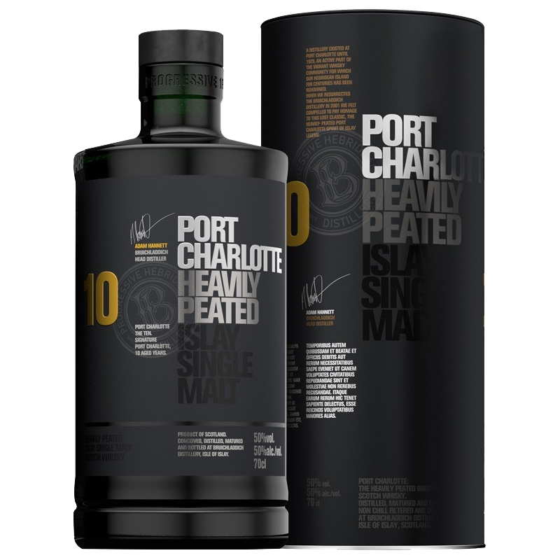 Port Charlotte 10 ans Whisky 50 %