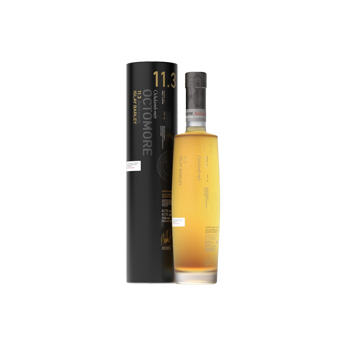 Octomore 11.3 Whisky 61,7 %