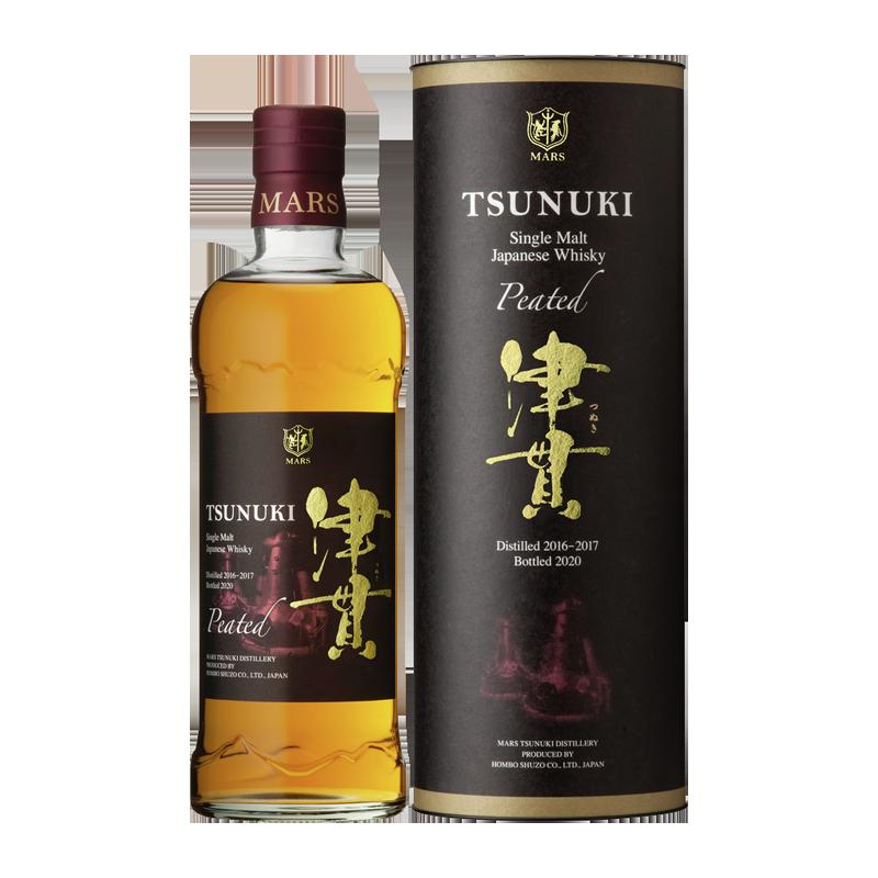 Mars Tsunuki Peated Whisky 50 %