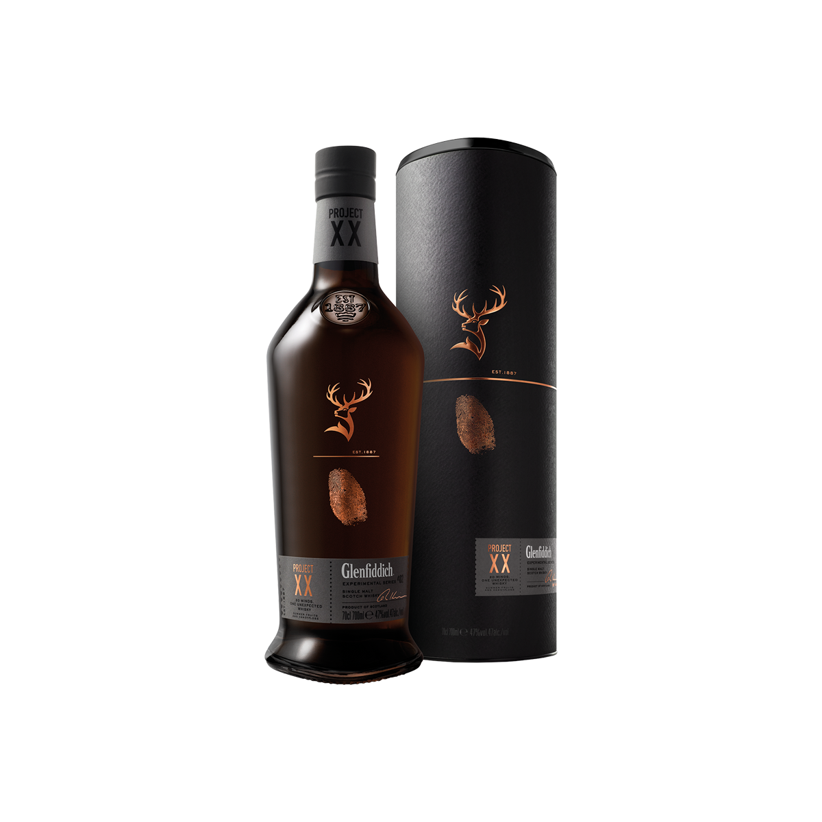 Glenfiddich Project XX Whisky 47 %