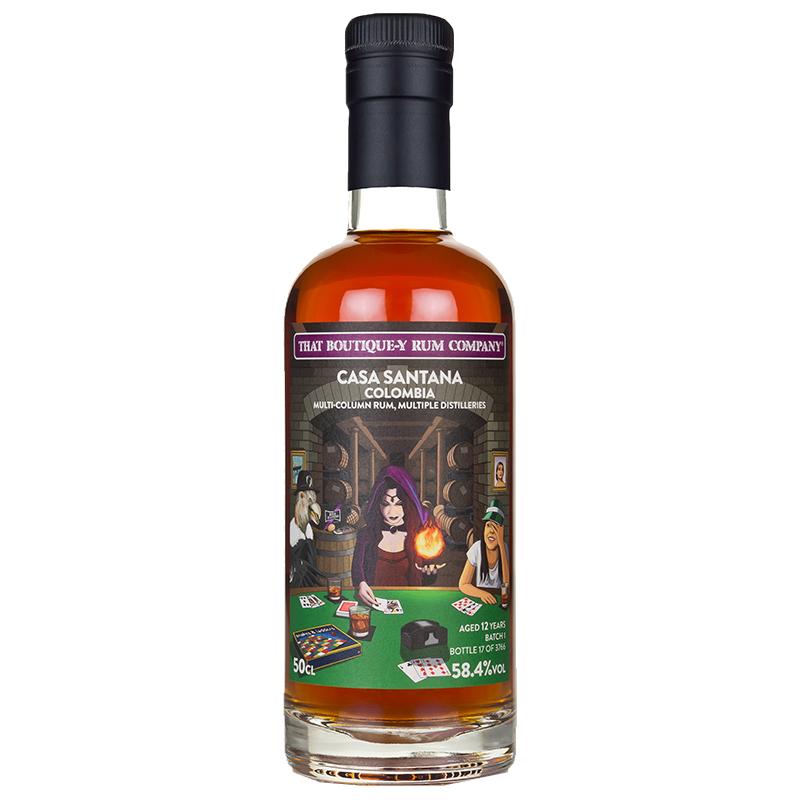 That Boutique-y Rum Casa Santana 12 ans Rhum 58,4 %