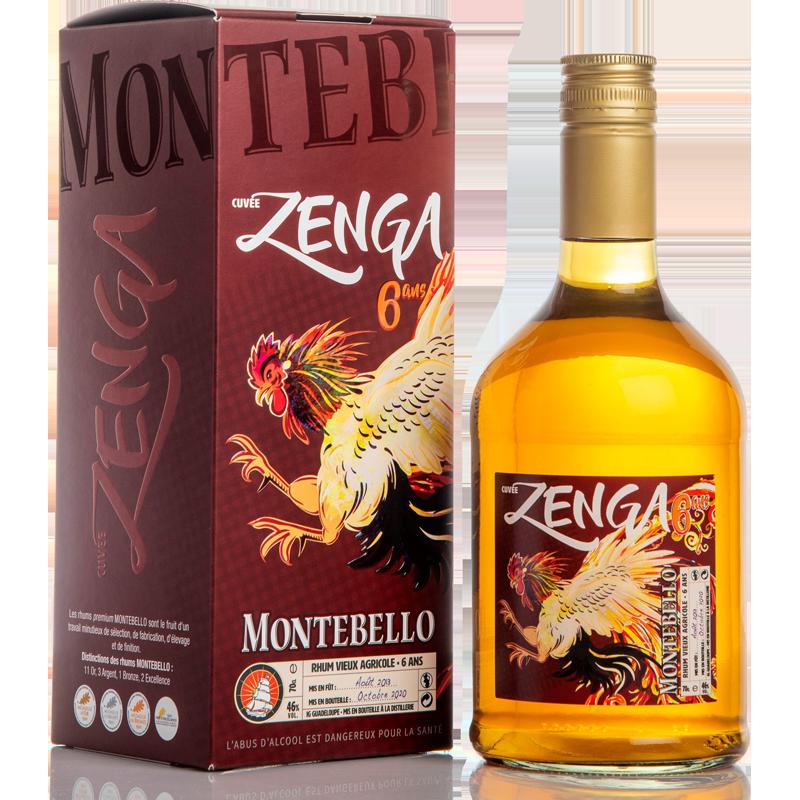 Montebello Zenga 6 ans Rhum 46 %
